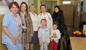 Posjeta -odjel pedijatrije